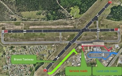 Rehabilitation of the Service Roads and Bravo Taxiway at the East London Airport