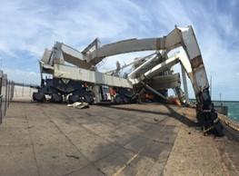 Transnet Ship to Shore Crane collapse